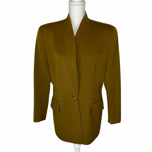 Christian Dior Vintage Long Blazer Jacket Size 12